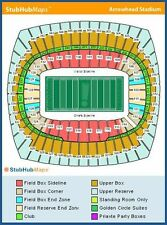 2 San Diego Chargers @ Kansas City Chiefs 9/11, HOME OPENER, Sec 108, Row 16