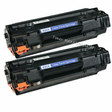2 PK Black Toner Cartridge CB435A 35A For HP Laserjet P1005 P1006 P1003 Printer