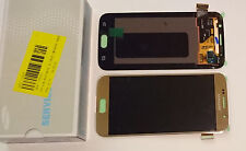 SAMSUNG GALAXY S6 G920F LCD TOUCH SCREEN DISPLAY COMPLETE ORIGINAL GENUINE GOLD
