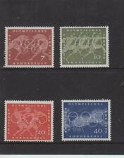 WEST GERMANY MNH STAMP DEUTSCHE BUNDESPOST 1960 OLYMPIC YEAR SG 1246-1249