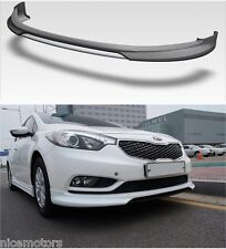Front Lip Diffuser with Painted 1Set For KIA Forte Cerato K3 2014 2015