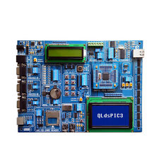 PIC development Board QLdsPIC3 for microchip PIC24 dsPIC PIC32 Microcontrollers