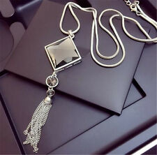 Elegant Women Girl Necklace Fashion Tassel Sweater Long Chain Necklace Jewelry