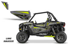 AMR Racing UTV Door Graphics Inserts for Polaris RZR 1000 Dragonfire HiBoy LM SQ