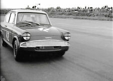 BROADSPEED FORD ANGLIA PHOTOGRAPH SALOON CAR RACER AT SPEED #43