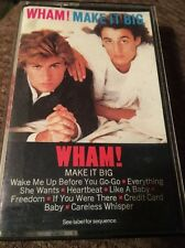 Make It Big by Wham! (Cassette, Oct-1984, Columbia (USA)) FAST SHIPPING