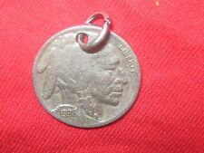 AUTHENTIC ARIZONA SOUTHWEST AGED 1936 BUFFALO NICKEL PENDANT COIN NECKLACE