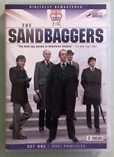THE SANDBAGGERS  set one first principles  DVD 2 disc set