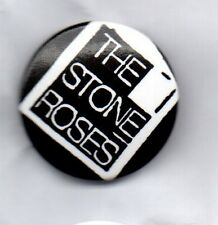 THE STONE ROSES - BUTTON BADGE - ENGLISH INDIE ROCK BAND - IAN BROWN - CLASSIC