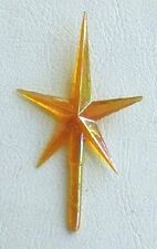 Medium-Sized Gold Tree Top Star for Ceramic Christmas Tree - New