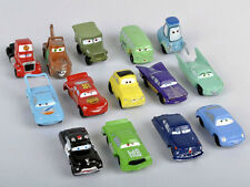 14pcs Disney Pixar Cars Lightning McQueen Mater Guido Figures Kids Toys Car Gift
