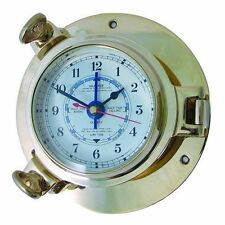 Nautical Ships Porthole Large Tide Clock