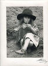 Photo Paul Almasy - Gitans - Tirage argentique d'époque -