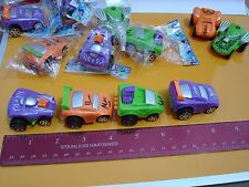 12 TWO TONE PULL BACK TOY RACECARS 2""