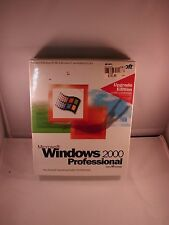 Microsoft Windows 2000 Professional Upgrade Edition Retail Box SEALED