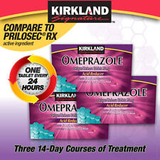 Kirkland Signature Omeprazole 20 mg 42 Tablets Free Shipping