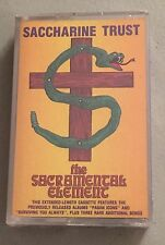 Saccharine Trust - The Sacramental Element - Cassette - SEALED Brand new SST