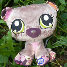 New LPS plush Littlest Pet Shop Stuffed Doll toy Little Brown Bear 15cm 6""