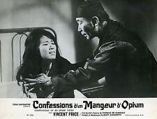 LINDA HO CONFESSIONS D'UN MANGEUR D'OPIUM 1963 VINTAGE LOBBY CARD