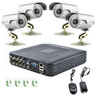 H.264 8CH DVR 1300TVL CCTV Home Security 4 IR Outdoor Night Camera Alarm System