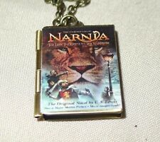 C.S. Lewis's Chronicles of Narnia book charm LOCKET necklace fantasy world magic