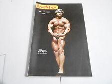 JULY 1982 IRON MAN vintage bodybuilding muscle magazine -- ED CORNEY