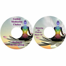 Guided Meditation Chakra Healing and Re-energising & Chakras Music on 2 CDs