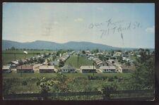 Postcard WAVERLY Ohio/OH Bristol Retirement Village Bird's Eye Aerial view 1950s