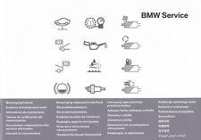 originale BMW Serviceheft Quaderno Regalo Servizio Istruzioni Ispezione X 1 X 3