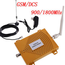 Dual Band GSM DCS 900/1800MHz 3G Cell Phone Signal Booster Amplifier /Antenna