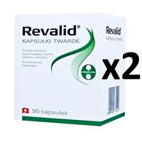 REVALID 180 Caps HAIR LOSS TREATMENT and reconstruction nails For Men & Women