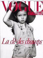 Magazine VOGUE PARIS mode supplément enfant 971 Octobre 2016 clé des champs kids