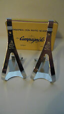 Vintage NOS Classic 70' scampagnolo Nuovo record toeclips MEDIUM colnago bianchi