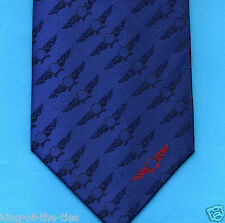 FREE P&P* RAF Royal Air Force Emblem Pilot Plane Aeroplane Tie