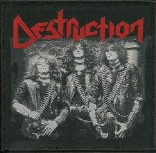 DESTRUCTION-OLD SCHOOL PHOTO-WOVEN PATCH-CLASSIC