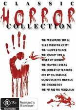 G15 BRAND NEW SEALED Classic Horror Collection (DVD, 2011, 11-Disc Set)