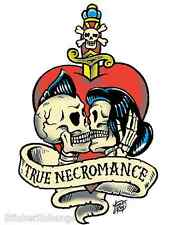 Mini Size True Necromance Sticker Decal Artist Vince Ray VR16B