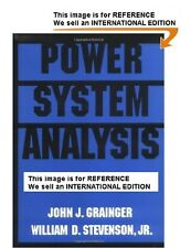 Power System Analysis: Analysis and Design by John Grainger-Int' Ed PaperBack