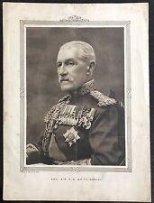Generale Sir H. G. Smith-Dorrien stampa vintage