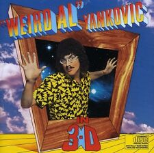 In 3-D - Weird Al Yankovic (1991, CD NEUF)