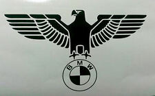 BMW German eagle logo sticker window bumper