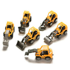 Hot Miniature Engineering Truck Toy Collection Gift for Kids Boys 6 Styles WB