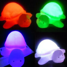 Funny Cute Turtle Design LED Night Light Lamp Colors Change Party Home Decor