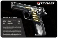 Smith & WESSON M&P 9mm Pistol Pistola Pulizia armaiolo Bench Riparazione Cut-away TekMat