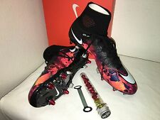 Nike Mercurial Superfly CR7 SG Pro Soccer Cleats Size 10 / UK 9