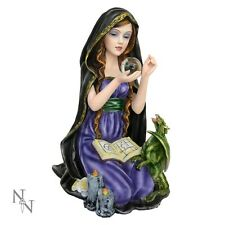 NEMESIS NOW *DAVINA* WITCH/GOTHIC FAIRY & DRAGON  ORNAMENT/FIGURE NEW & BOXED
