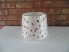 Emma Bridgewater Lamp Shade - Pink Hearts - New