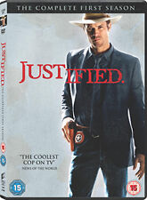 JUSTIFIED - SEASON 1  - DVD - REGION 2 UK