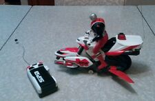 Power Rangers S.P.D. - Radio Control R/C SPD Cycle With Red Ranger. 2004 bandai.