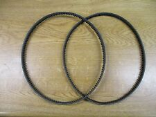 Set of roller & cylinder drive belts Atco Balmoral 14S/17S/20S A57941 &A57940